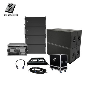 8LA210+ 4S28 Plug&play finished stage stadium outdoor concert pa audio sound system line array speakers