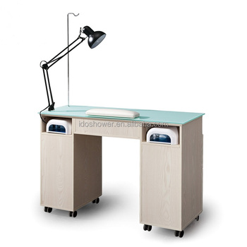 Nails Salon Professional Products And Nail Table With Exhaust Fan ...