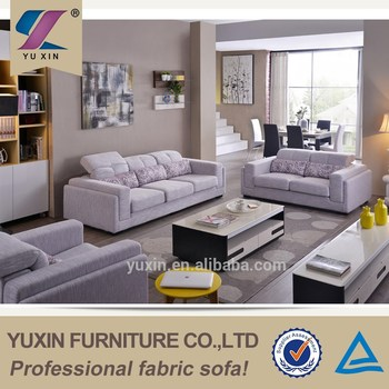 Villatic Modern European Furniture Import From China Corner Fabric Sofa