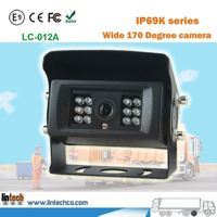 Night Vision 170 Degree IP69K Waterproof Vehicle Camera for Vehicle backup Video assistant