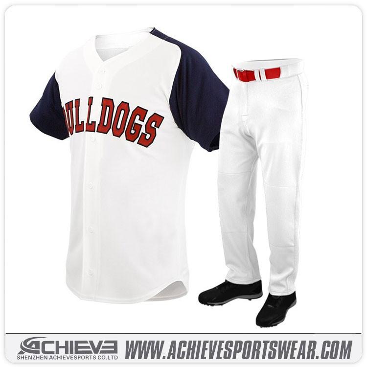 c87878c2 wholesale sublimated baseball T shirts custom tackle twill baseball jerseys  team training baseball uniforms