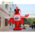 Customized giant inflatable shrimp model, inflatable prawn model for advertising