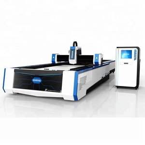 Saving manpower fiber laser cutting machine for sheet metal cutting