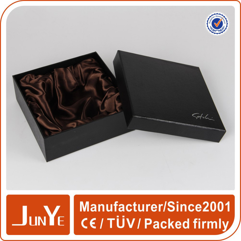 custom branded satin lined jewelry gift boxes manufacturers china