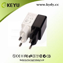 ISO tablet smartphone power adapter 5v 1.5A 2A IN China market