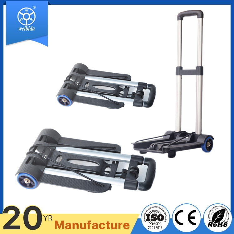 WBD aluminium luggage trolley cargo deliver tools folding cart tool cart
