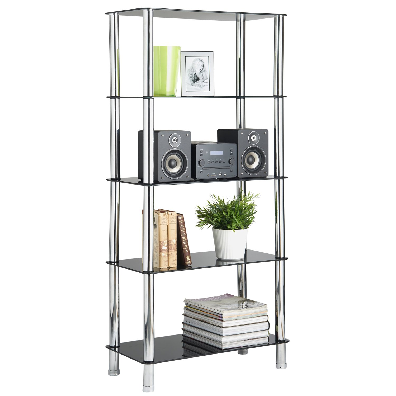 Cheap Glass Shelving Unit, find Glass Shelving Unit deals on line at ...