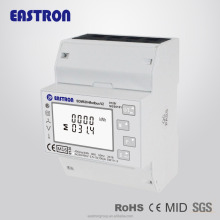 SDM630Modbus V2 MID approved three phase energy meter, din-rail mounted,RS485