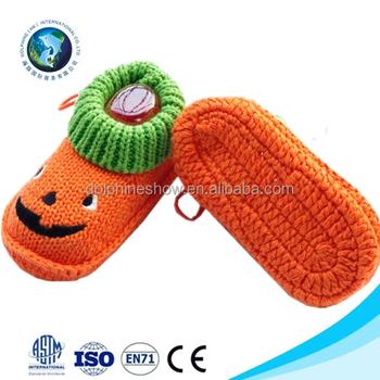 Schöne Neugeborenen Stricken Baby Schuh Niedlich Halloween Geschenk