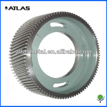 High precision forged steel cylindrical helical gear