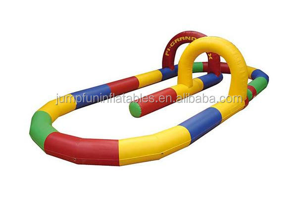 inflatable racing track for kart race