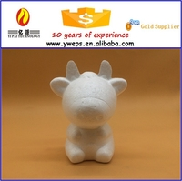 Hot sale cute animal toys - ox/fake cow diy for kids