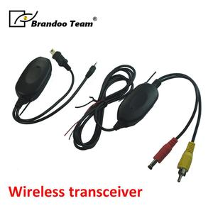 Video audio transmitter and receiver wireless
