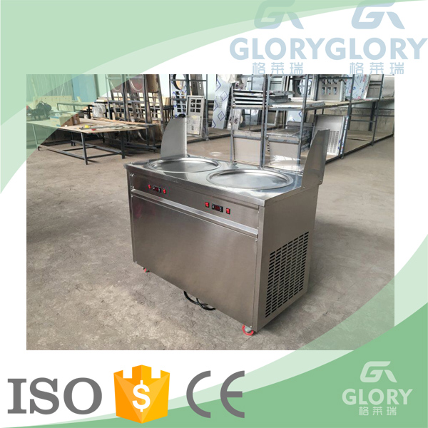 Factory Supplier GL-F500N Thailand Fry Ice Cream Roll Machine