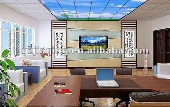 Moderne conferentie kamer geleid plafond blauwe hemel paneel buy