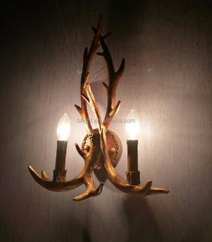 Design resin wall lamp deer antler chandelier bllj 003 buy deer design resin wall lamp deer antler chandelier bllj 003 mozeypictures Choice Image