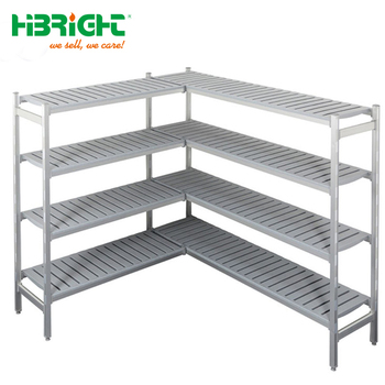 Commercial Kitchen plastic steel cold room storage rack for restaurant,  View cold room rack, Hibright Product Details from Suzhou Highbright ...