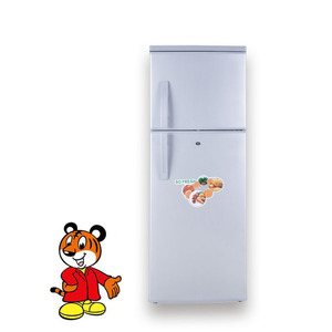 350 l solar powered double door refrigerator/fridge 12 v