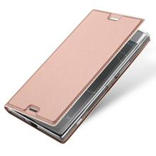 For Sony XZ Premium DUX DUCIS Magnetic Leather Flip Case with Card Slot Stand Folio Case MT-6404