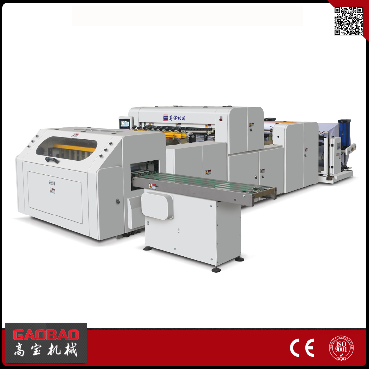 Gaobao 2017 Alibaba Online Automatic Copy A4 Paper Cutting & Packaging Machine