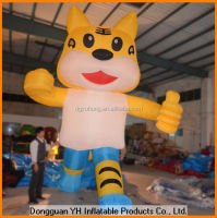 giant inflatable tiger cartoon for promotion