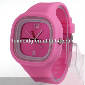 1ATM waterproof hot itme high quality silicone jelly watch