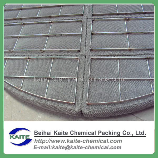 Metal wire gauze demister, Wire mesh screen demisters