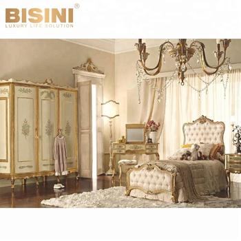 Bisini Reale Di Lusso Francese Per Bambini Camera Da Letto Mobili,Antico In  Legno Massello Intaglio Biancheria Da Letto Per Bambini (bf07-70191) - Buy  ...