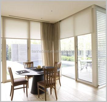 Gut bekannt Bedruckte Stoff-rollos Balkon Sonnenschutz Vorhänge Und Vorhänge TU16