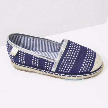 438a37a657e23 Custom 2017 Asian Style Alpargatas Espadrille Sole Women Shoes Denim Jeans  Loafers Flats Shoes - Buy Custom 2017 Asian Style Alpargatas Espadrille ...