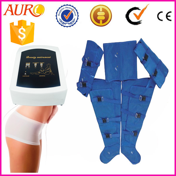Newest Air pressure Weight loss salon machine with Electronic muscle stimulation Au-6809