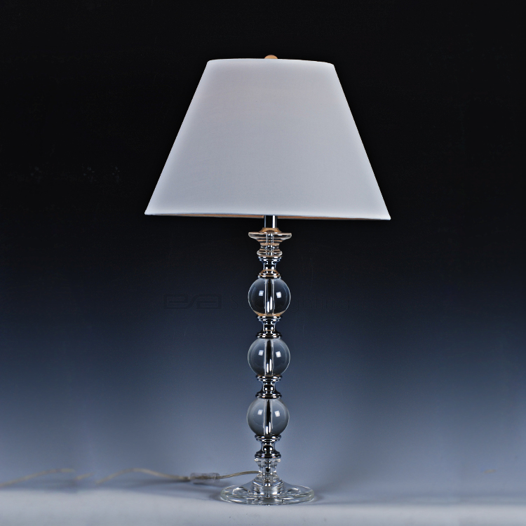 Antique Crystal Table Lamp Table Lamp Base Only Crystal Ball Table