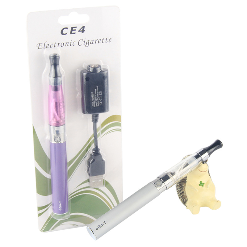 10 years factory High quality A+ ego kit ecig/ego ce4 kit ecig accept oem