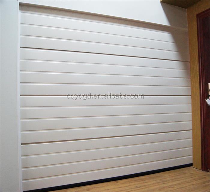 cheap garage doors single skin steel sectional door