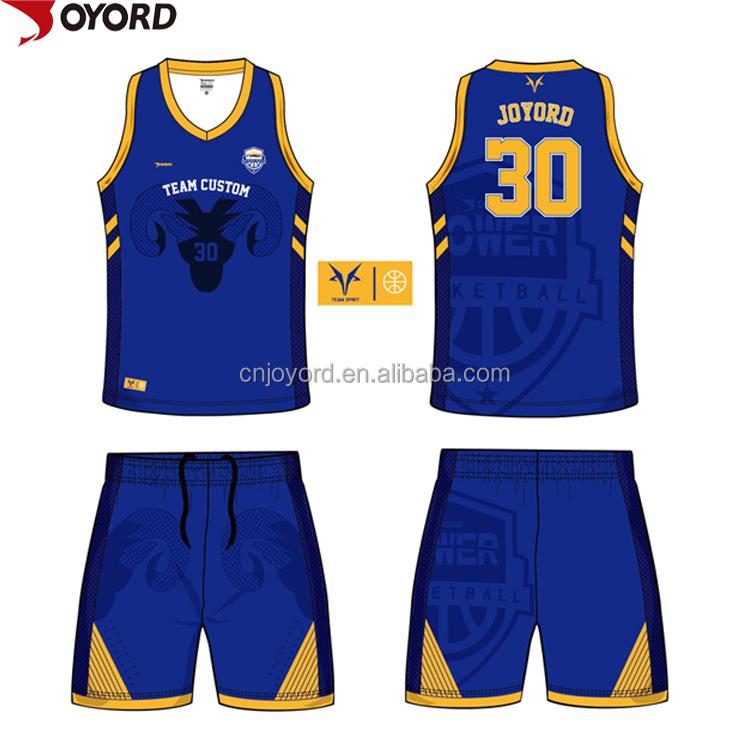 China benutzerdefinierte neue design basketball jersey sublimiert dri fit internationalen jersey basketball