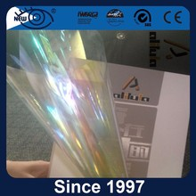 Solar chameleon car window smart tint film rejected rolls