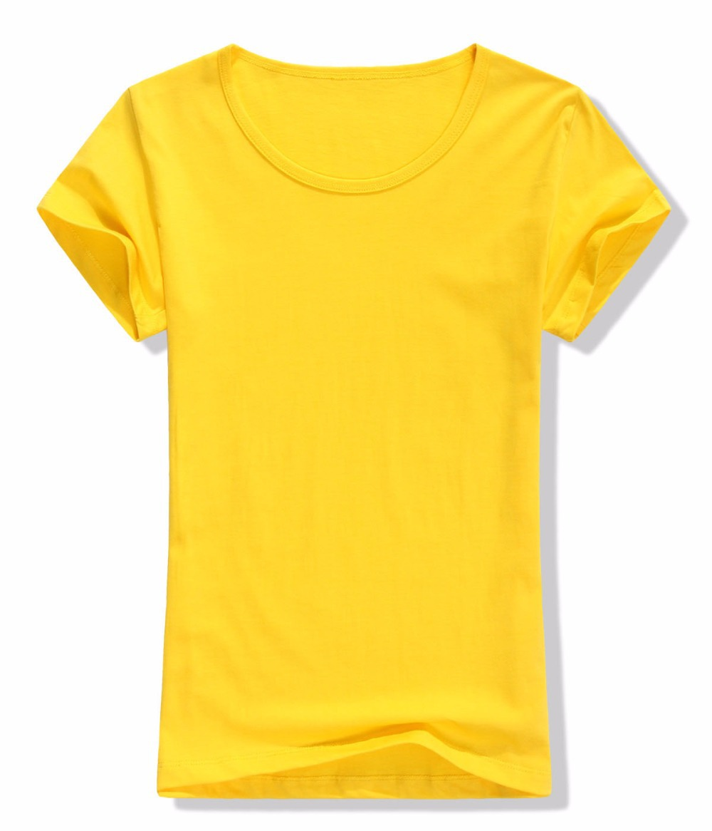 ad9da2a500c6 Get Quotations · High quality 100% cotton blank t-shirts women soft and  comfy t shirt logo