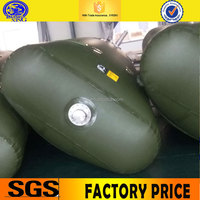 Army use PVC tarpaulin portable and water bag storage tank