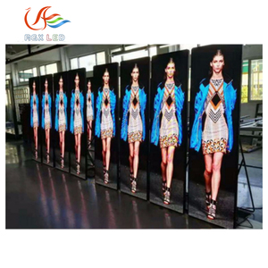 High quality 3G 4G wifi control HD mirror led sign use for store window fashion show