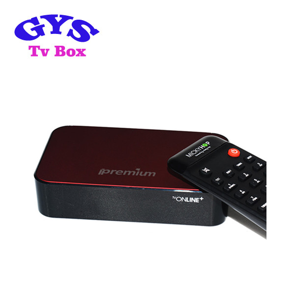 IPTV set top box Ipremium Tvonline+ android 4.4 OS quad core best streaming box