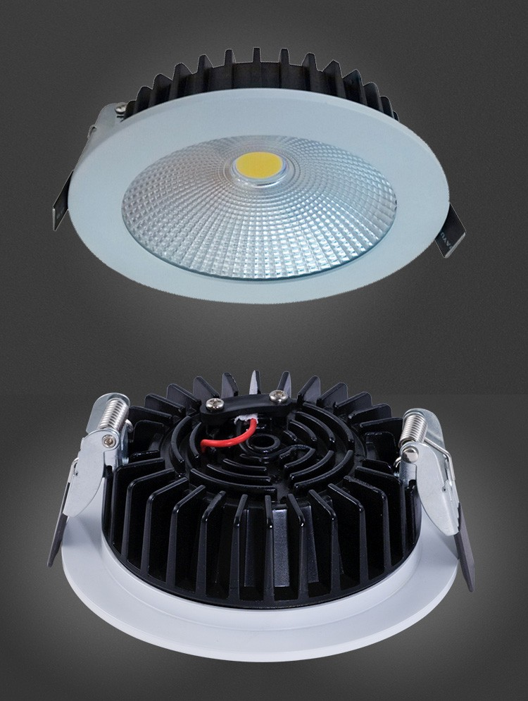 7W Cut Out 96mm Citizen COB Dimmable LED Downlight With SAA CE RoHS