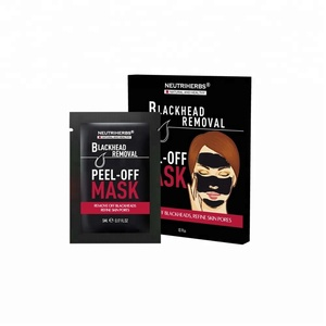skin care products female face mask blackhead removal mask shills black mask for cleaning pore
