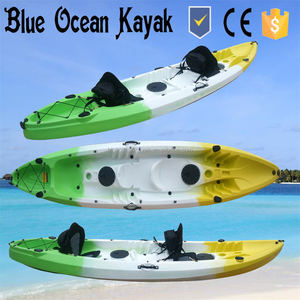 Tandem (2+1) sit on top fishing kayak wholesale from Blue Ocean Kayak