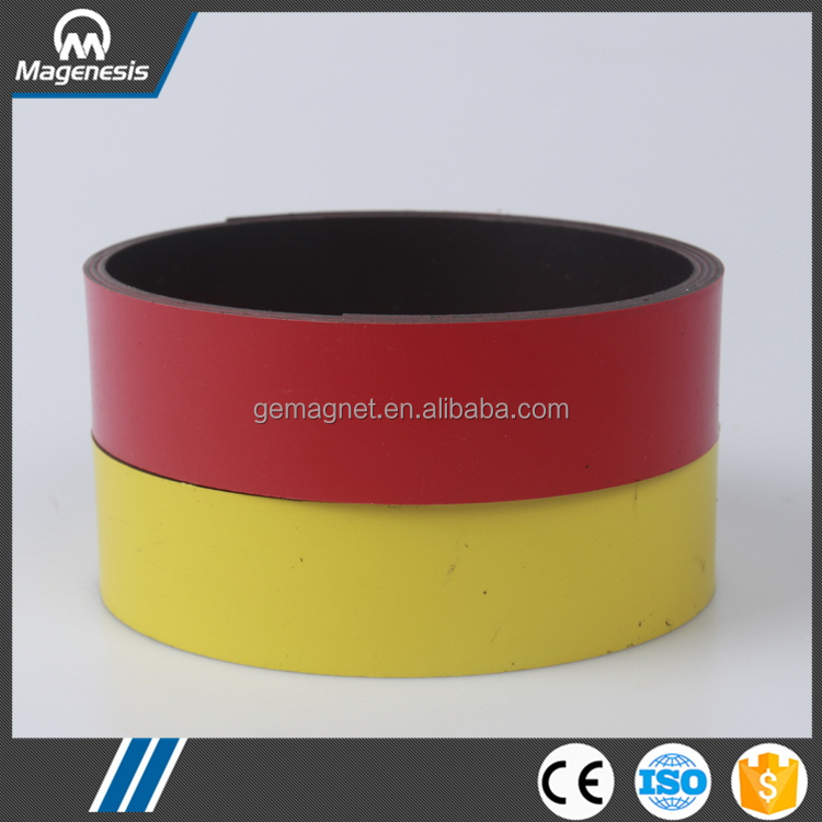 China manufactory top sell printing rubber magnet fridge label