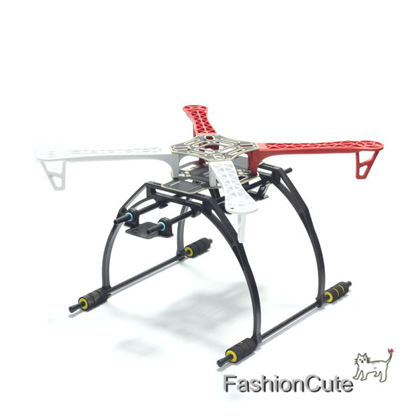 RC F450 Airframe QuadCopter PCB Board with Landing Gear Gimbal Support  Battery Plate for DJI Flamewheel F450 SK450 FPV