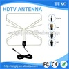 25DBI Indoor Digital TV Antenna With F Connector Cable VHF DVB-T DVBT2 ATSC TV Antenna