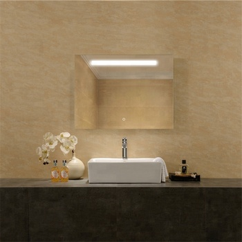 Vanity Frame Bathroom Mirror With Wall Hanging System
