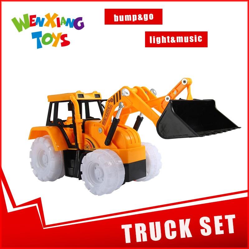 enfants grue jouet bac sable pelle excavatrice avec son et lumi re autres jouets loisirs id. Black Bedroom Furniture Sets. Home Design Ideas