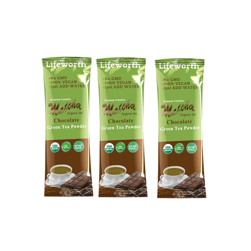 Lifeworth chocolate matcha tea drink private label - 4uTea | 4uTea.com