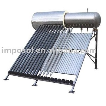 South Africa 2mm Vacuum Tube Solar Geyser Integrated